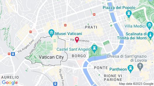 San Pietro Boutique Rooms Map