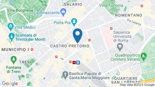 Hotel Stella Map