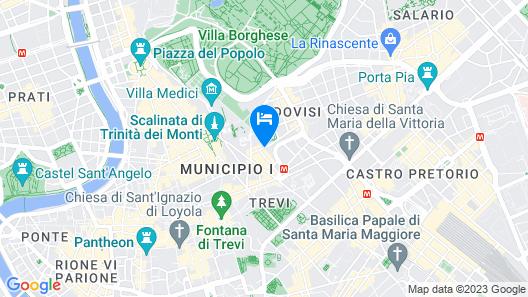 Hotel degli Artisti Map