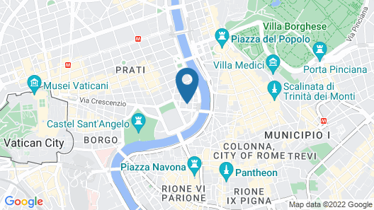 Residenza Cavallini Map