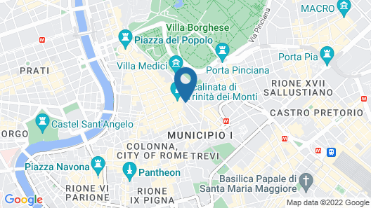 Hotel Scalinata di Spagna Map