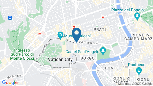 Il Passetto Guest House Rome Map