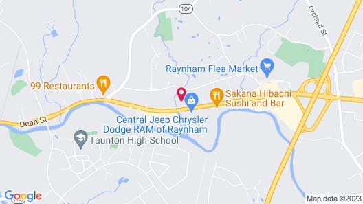Quality Inn Raynham - Taunton Map