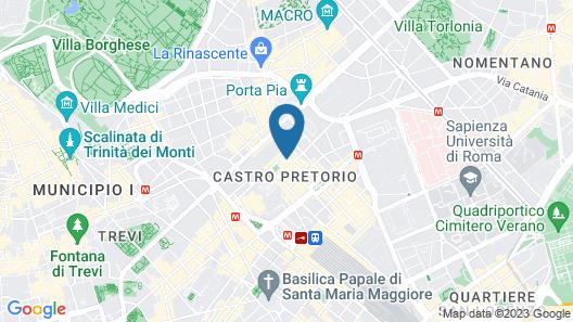 Hotel XX Settembre Map