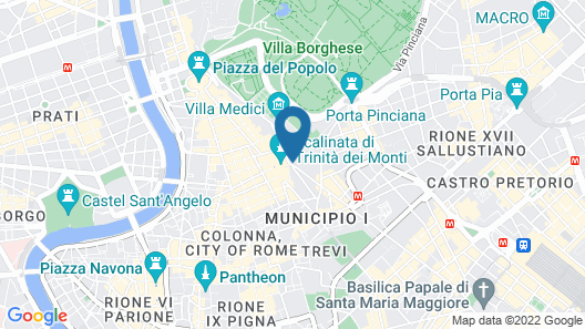 Hassler Roma Map