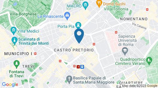 Crosti Hotel Map