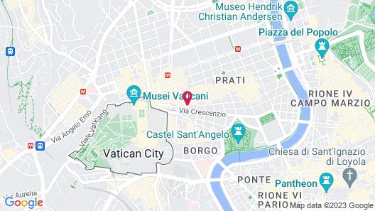 Dei Consoli Hotel Map