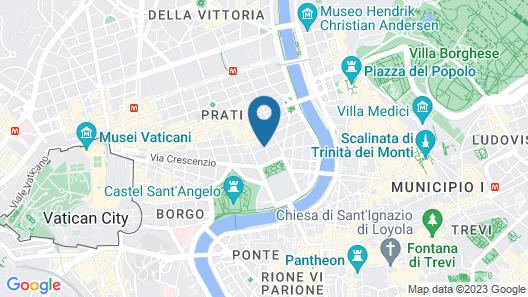 Hotel Isa Map