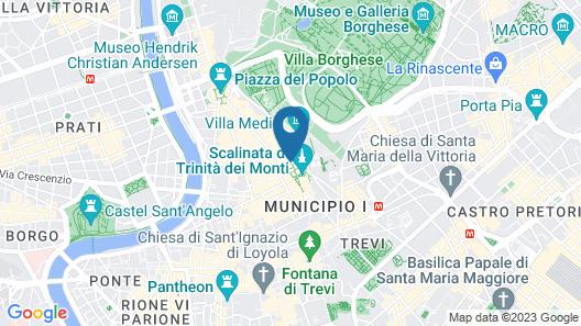 Piazza di Spagna 9 Map