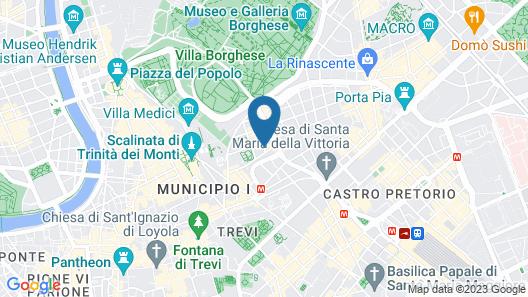 Hotel La Residenza Map