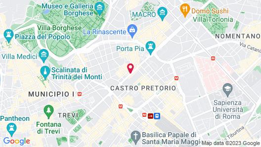 Hotel Ranieri Map