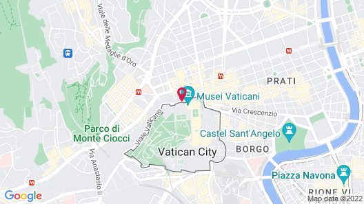 Tmark Hotel Vaticano Map