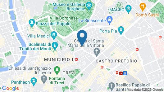Grand Hotel Palace Map