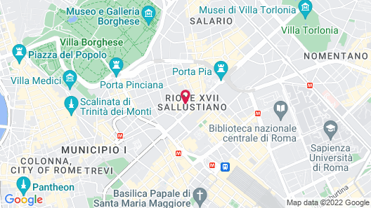 Hotel Invictus Map