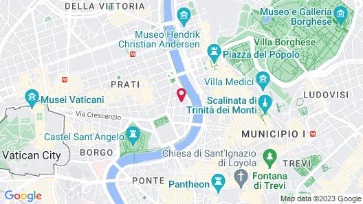 Hotel Dei Mellini Map