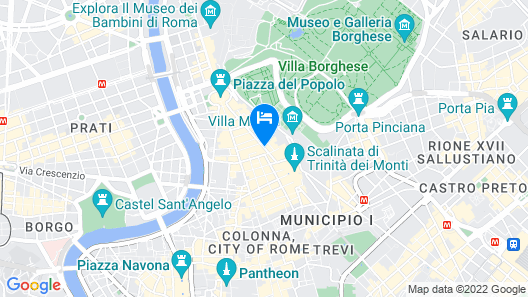 Maison Evelina Map