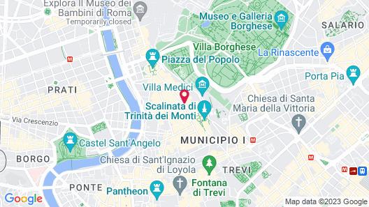 Babuino 79 Map