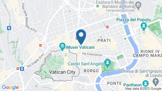 Star Vatican Rooms Map