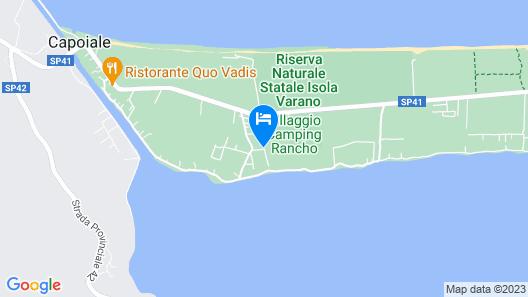 Camping Riviera Village Map