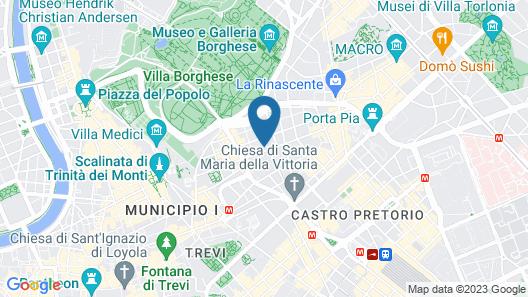 Rose Garden Palace Roma Map