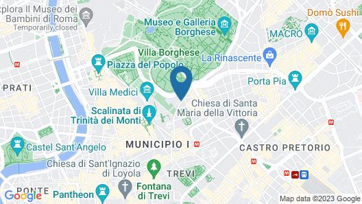 Hotel Splendide Royal Map