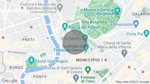 Babuino Deluxe - Spanish Steps Map