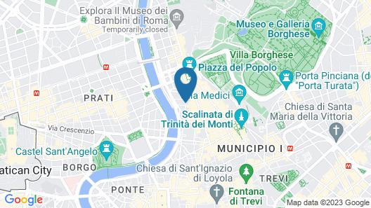 Residenza di Ripetta Map