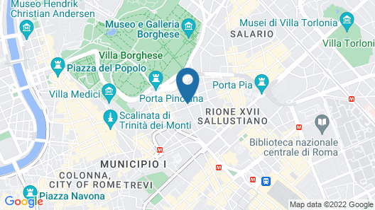 Boutique Hotel Roma Map