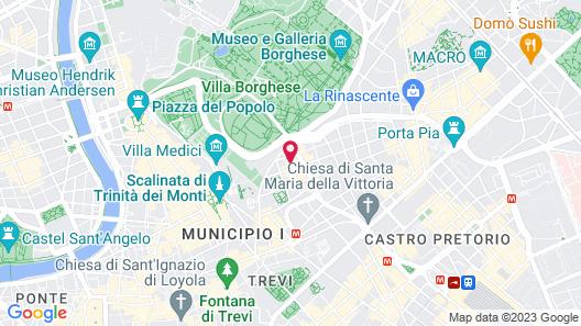 Relais Donna Lucrezia Map