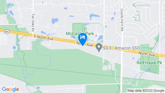 Du Wayne Motel Map