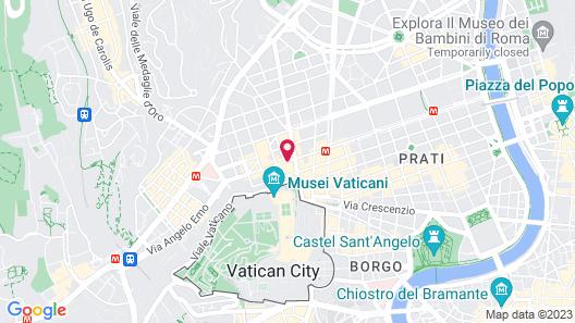 San Pietro Candia 25 Map