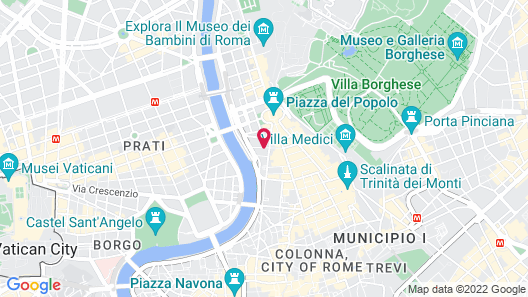 The First Roma Arte Map