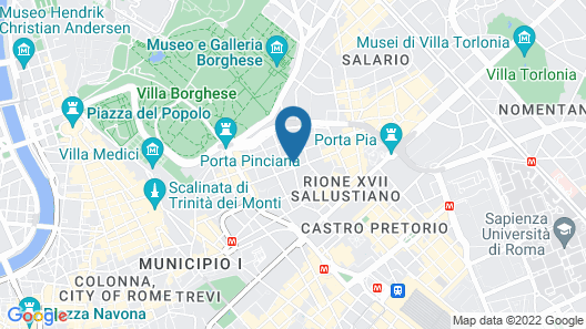 Hotel Veneto Palace Map