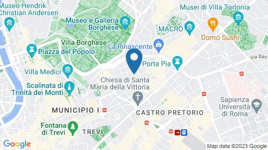 Hotel Romanico Palace Map