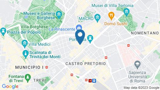 Marcella Royal Hotel Map