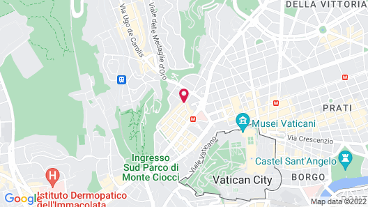 Vatican May's House Map