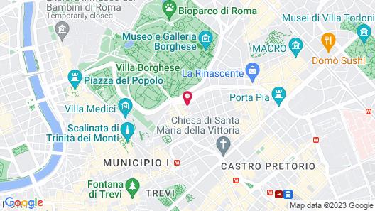 Hotel Golden Map