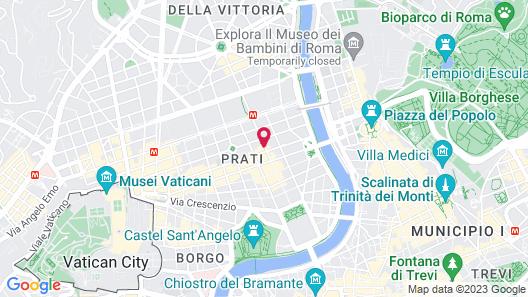 Colonna Luxury Suites Map