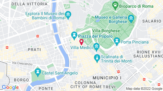 Piazzetta Margutta - My Extra Home Map