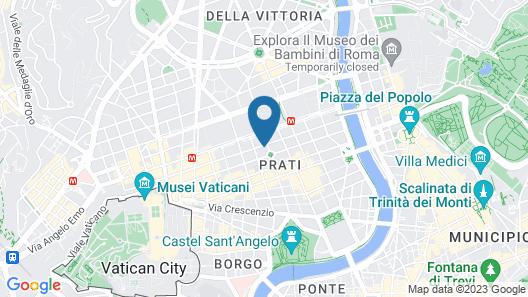 Casa Frisi Map