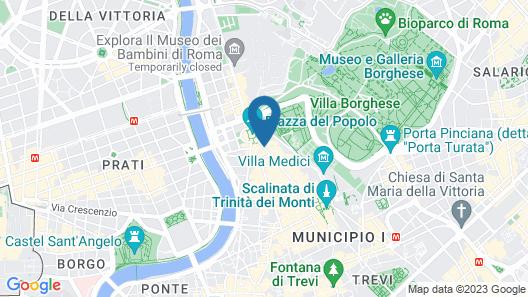 Rocco Forte Hotel De Russie Map