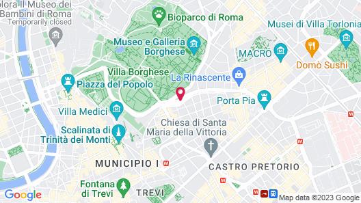 NH Collection Roma Vittorio Veneto Map