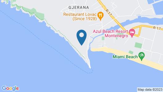 Hotel La Rosa Negra Map