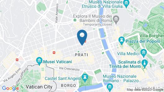 Hotel San Valentino Map