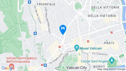 Royal Vatican Relais Map