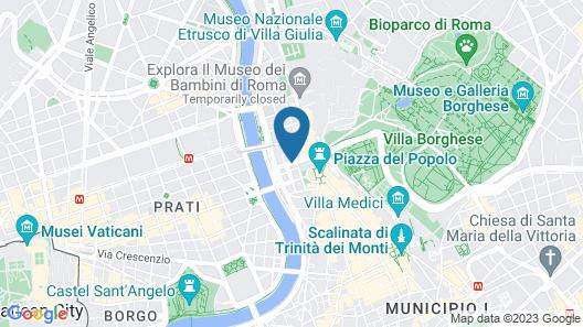 Residenza Flaminio Gaio Map
