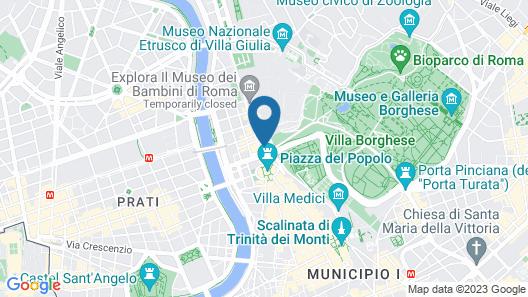 Domus Del Corso Flaminio   Map