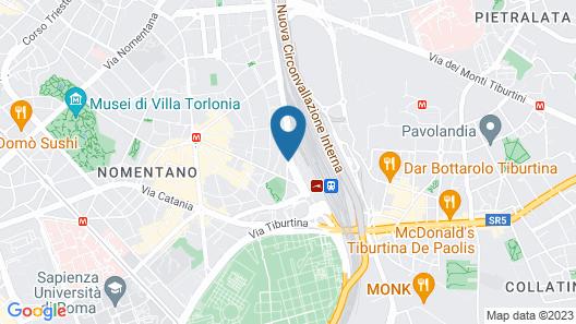 B&B Alba Domus Roma Map