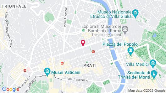 Hotel Metropolis Map