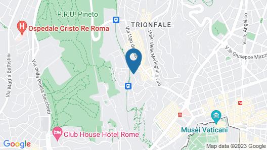 Grand Hotel Tiberio Map